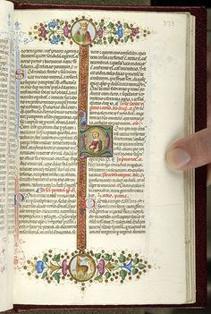 Piccolomini breviary, MS M.799 fol. 373r - Images from Medieval and Renaissance Manuscripts - The Morgan Library & Museum