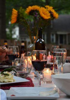 carlyklock: Summer Dinner Party Menu