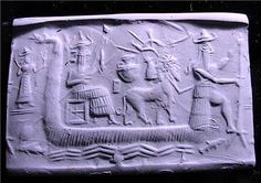 Sumerian Flood Story Tablet, 2000 BC.