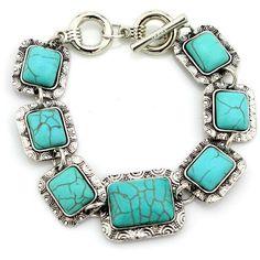 Retro Turquoise Bracelet