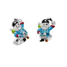 Image for Silver Pirate Cufflinks