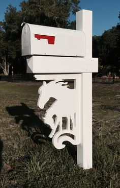 ... Bracket Was A Custom Piece For A Horse Owner Friend And Has Become  Quite Popular. This Slightly Larger Design Looks Great On A Porch, Mailbox  Or Just By ...