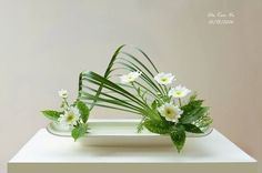 Modern Floral Arrangements, Beautiful Flower Arrangements, Beautiful Flowers, Deco Floral, Arte Floral, Floral Design, Ikebana Flower Arrangement, Ikebana Arrangements, Flower Show