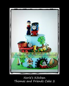 Norie's Kitchen – Thomas and Friends Cake2