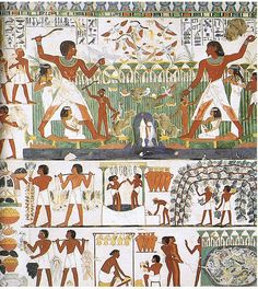 Egyptian Art History (Old Kingdom Through Assyria) Timeline | Preceden