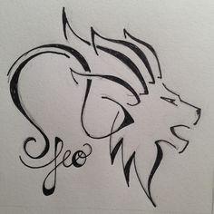 best leo tattoo designs | Leo Zodiac Sign Tattoo Designs