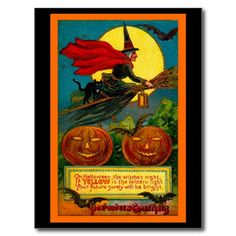 Halloween Night Post Card