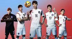Integrantes de la selección de Corea presentes en Brasil 2014