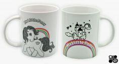 My Little Poney - Mug - 320 Ml - Retro - Porcelaine ABYstyle