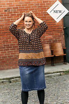 New arrivals in women´s plus size Blouses & Shirts | ULLA POPKEN