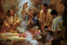 OPENING THE SACRED BUNDLE By Howard Terpning Published by The Greenwich Workshop