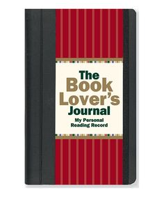 'The Book Lover's' Reading Journal