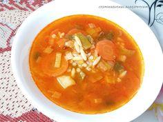 Chute mojej kuchyne: Pórová polievka / Pırasa çorbası