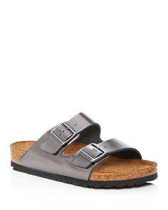 Birkenstock Arizona Metallic Sandals