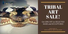 We offer a large selection of unique, museum quality tribal masks, sculptures ... Ancient African tribal art pieces that are a great investment. ... Over 800 authentic African tribal masks, sculptures, and bronzes for sale.!!!! www.african-arte.com/shop