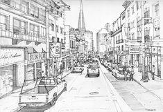 Clay Street, San Francisco by Edgeman13 @deviantART