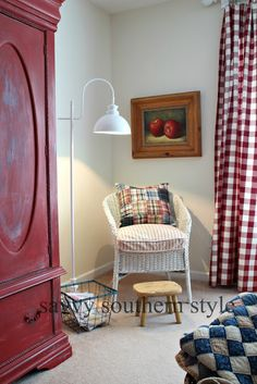 Savvy Southern Style: New Farmhouse Style Lamp