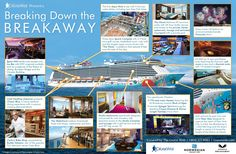 Check this amazing infographic all about the brand new Norwegian Breakaway via my pals over at The Cruise Web!