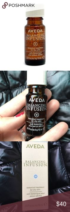 Aveda Balancing Infusion Oil Best facial oil EVER! One drop a night will change your skin health drastically!! This is new in the box and has been discontinued by Aveda, so snatch it while you can! $58 value. Aveda Makeup