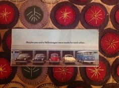1970 Volkswagen promotional brochure  | eBay
