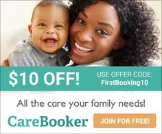 """Thanks to @bostonmomsblog and @citymomsblog  for the great review of CareBooker! Your """"one stop shop"""" for family care."""