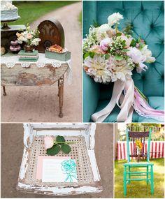 Vintage Wedding/On Solid Ground Vintage Rentals/ MN Vintage Inspiration