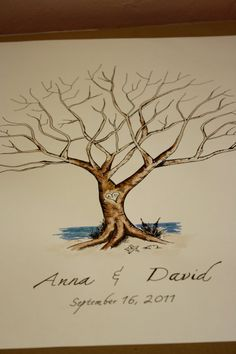 Custom bird order for Deanna Thumbprint Tree by jenniferjdesigns, $75.00