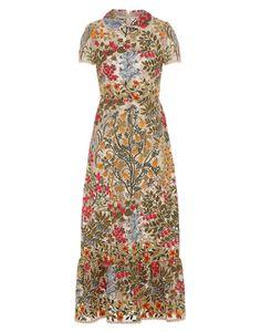 REDValentino PR3VA08K3H2 404 Embroidered dress Woman a