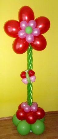 Ballonpilaar bloem