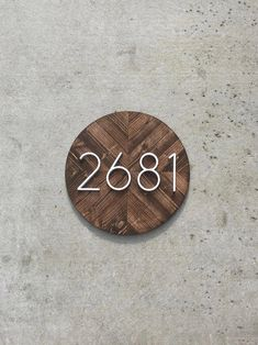 House Number Plaque, House Numbers, Address Plaque, Number Sign, Address Numbers, Address Sign, Beach Cottage Decor, Beach Cottage Sign