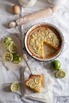 Polenta Tart With Lime