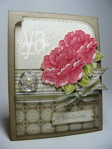 Stippled Blossoms - Stampin' Up!