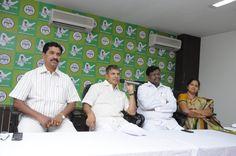 Dr.Thulasi Reddy,Sri R.D.Wilson,K.Satyanarayana and Smt. S.Sudharani