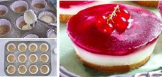 Recept na úplne dokonalý dezert, ktorý uspokojí aj tú najnáročnejšiu návštevu. Krásne vyzerá a jeho príprava Vám zaberie len pár minút času! Dessert Recipes, Desserts, Food And Drink, Cupcakes, Cooking, Sweet, Crafts, Basket, Tailgate Desserts