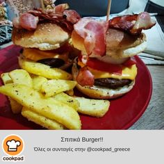 Party Time, Hamburger, Breakfast, Ethnic Recipes, Food, Morning Coffee, Essen, Burgers, Meals