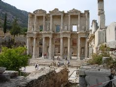 The Ancient World | Efeses Library, Ancient Greece