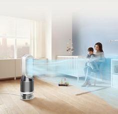 Air Purifiers | Purifying humidifier fans | Dyson Cordless Vacuum, Ventilation System, Home Upgrades, Air Pollution, Indoor Air Quality, Air Purifier, Deep Cleaning, Humorous Animals, Fan