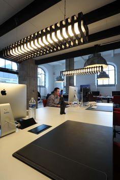 SPINE DARK / design / lighting / darling #DARK office Demonstr8 d8 Tour&Taxis Brussel BE