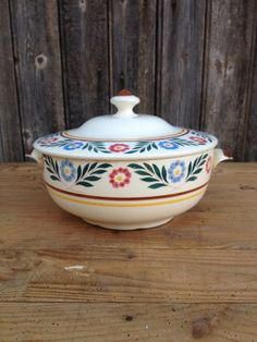 French vintage soup tureen model Marcelle by VINTAGEorangeBAZAR