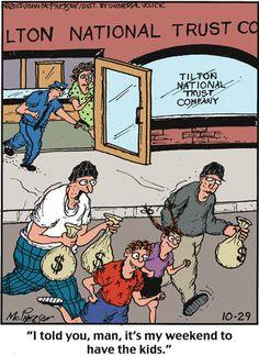 Close to Home Comic Strip, October 29, 2015 on GoComics.com