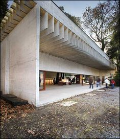 Nordic Pavilion, Biennale di Venezia, Italy  1958-62  Sverre Fehn/ To me the pavilion is a Masterpiece already!