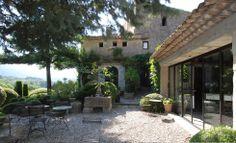 Nicole de Vésian's iconic garden (Jardin de la Louve) Bonnieux, Provence-Alpes-Côte d'Azur FRANCE