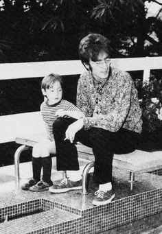 Top 10 Unpleasant Facts About John Lennon - Listverse Kind of disturbing John Lennon And Yoko, Julian Lennon, John Lennon Beatles, The Beatles, Cody Lohan, Dynamic Duos, Yoko Ono, Iconic Photos, Famous Couples