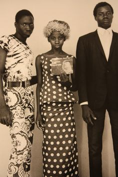 FROM MALI TO SEATTLE, WITH LOVE This photograph of three hardcore Jimi Hendrix fans in Bamako is the latest addition to the Malick Sidibe exhibition at MIA Gallery downtown. Sidibe took the picture in the 1970s.