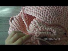 Videolu, Örgü Puf Nasıl Birleştirilir? - Mimuu.com