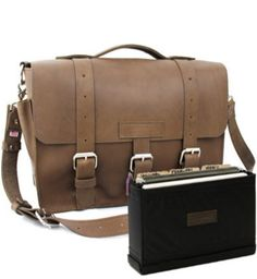 """Large 15"""" Belmar BuckHorn Briefcase Made in the U.S.A. - Copper River Bag Co. Get this briefcase at http://www.copperriverbags.com/large-15-belmar-buckhorn-briefcase-brown/"""