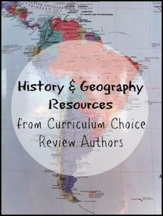 History and Geography Resources from Curriculum Choice Review Authors