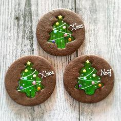 Christmas Sugar Cookies, Christmas Sweets, Christmas Goodies, Holiday Cookies, Holiday Treats, Christmas Baking, Gingerbread Cookies, Fancy Cookies, Cute Cookies