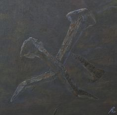Way of the Cross Painting, Timber Wood, Painting Art, Paintings, Painted Canvas, Drawings