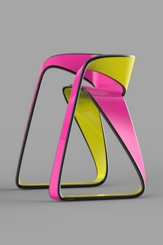 Dual faces chair by Xavier D
